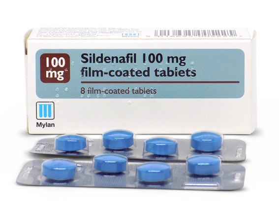 A Regular Pack of Generic Sildenafil Tablets