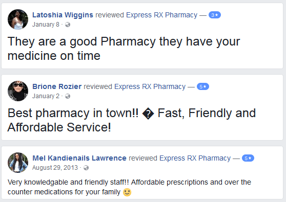 Express Rx Pharmacy Reviews