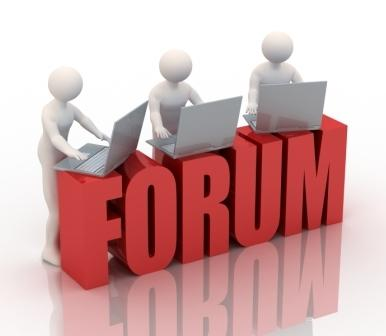 You will search the forum that best fits the issue you need advice about and then seek to join