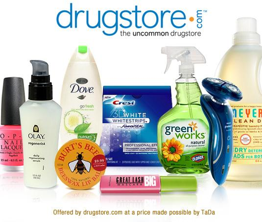 Selection of product at Drugstore