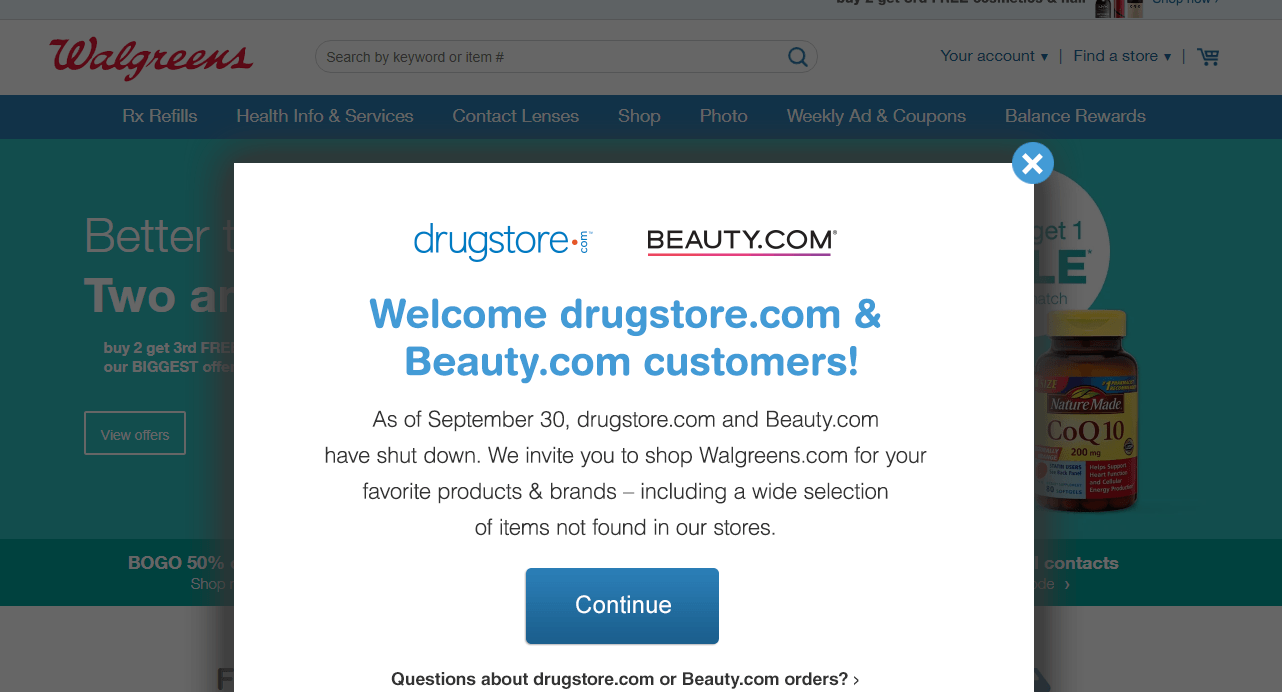 Drugstore Com Reviews