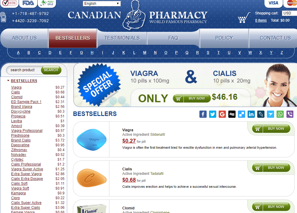 Online Pills Pharmacy Front
